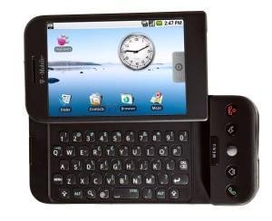 O primeiro celular comercial baseado em Android.