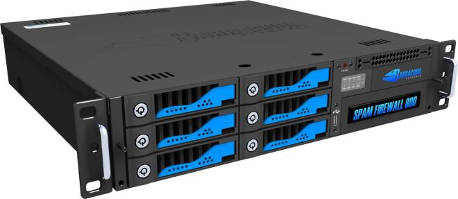 Exemplo de firewall físico (hardware).