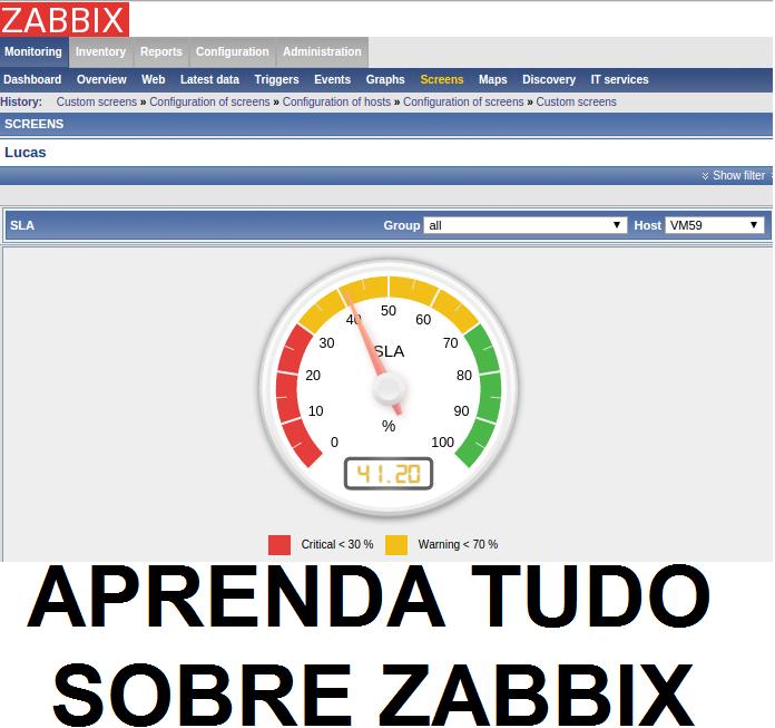 Seja Expert em Zabbix: a maior ferramenta de monitoramento de elementos de rede!